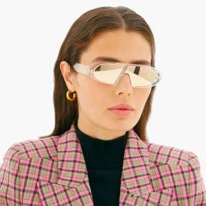 NWT Dior Oblique - 900SQ Gold Mirrored Sunglasses
